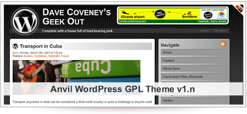 Anvil Theme for WordPress