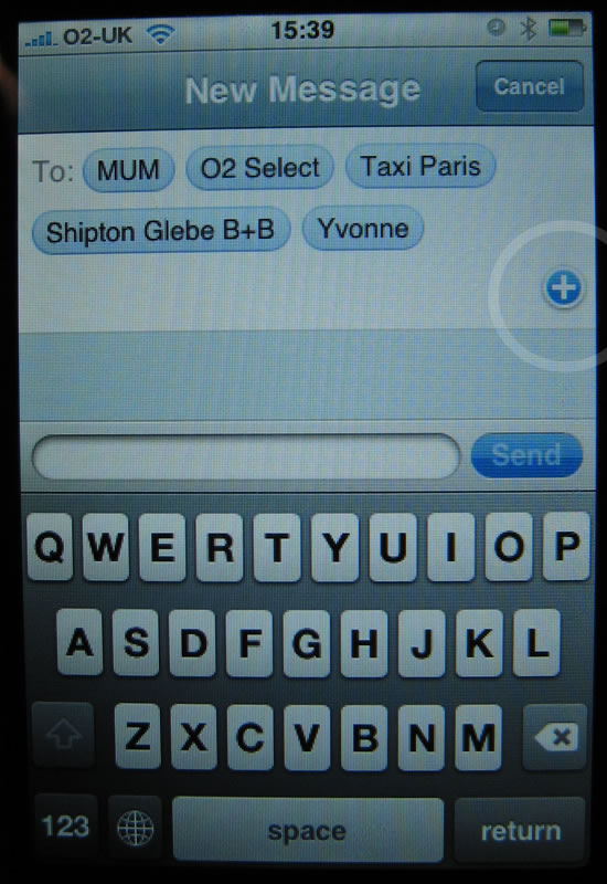 iPhone 1.1.3 Update SMS Multiple Recipients